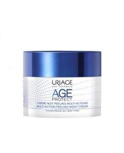URIAGE Age Protect krem multiaction peelingujący NA NOC (50 ml)