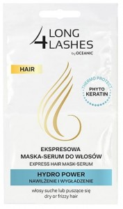 LONG 4 LASHES ekspresowa maska - serum do w艂os贸w HYDRO POWER nawil偶enie i wyg艂adzenie (2x6ml)