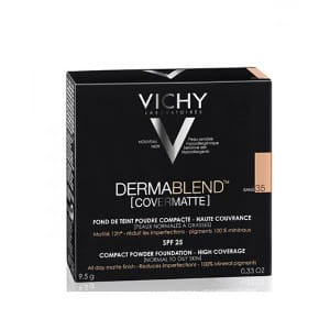 VICHY DERMABLEND COVERMATTE - puder w kompakcie 35 Sand (9,5 g)