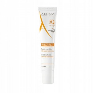 A-DERMA Protect bezbarwny fluid SPF 50+ (40ml)