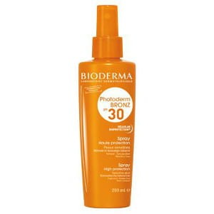 BIODERMA Photoderm Bronz SPF 30+ spray przyspieszajÄ…cy proces opalania (200ml)