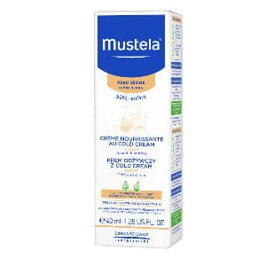 Mustela Bebe-Enfant krem odżywczy z Cold Cream do twarzy (40ml)