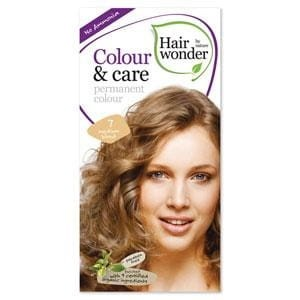 Hairwonder Colour & Care Trwała farba do włosów MEDIUM BLOND 7