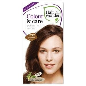 Hairwonder Colour & Care Trwała farba do włosów CHOCOLATE BROWN 5.35