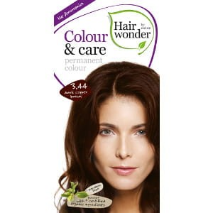 Hairwonder Colour & Care Trwała farba do włosów DARK COPPER BROWN 3.44