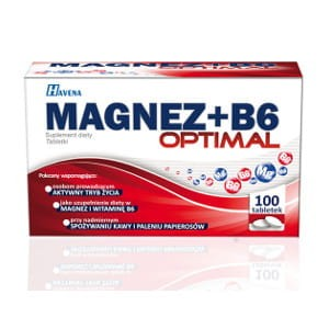 Magnez + B6 OPTIMAL (100 tabletek)