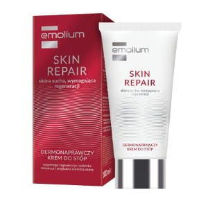 EMOLIUM SKIN REPAIR dermonaprawczy krem do stóp (100 ml)