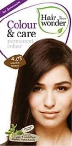 Hairwonder Colour & Care Trwała farba do włosów MOCHA BROWN 4.03